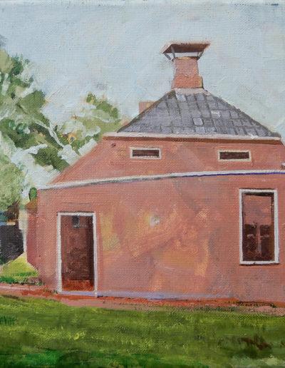 Walter van Dieren   Huisje in het Zuiderzeemuseum