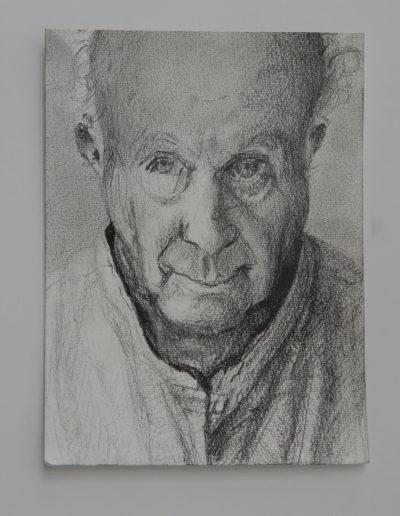 Walter van Dieren   De Kijker (zelfportret)