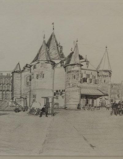 Walter van Dieren   Het Waaggebouw te Amsterdam